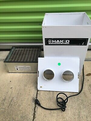 Hakko Soldering Fume Extraction System Model HJ3100
