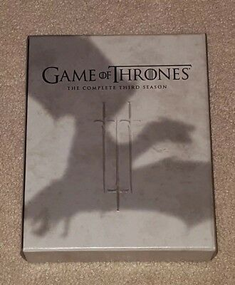 Game of Thrones Complete Third Season 3 blu ray
