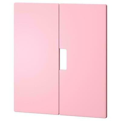 STUVA MALAD Pair of PINK Soft Close Doors Front 60 x 64cm 901.690.99 | IKEA New