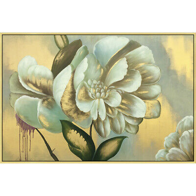 """YA697 Canvas Flower Peony oil painting 100% Hand-painted Unframed 36"""" Wall decor"""