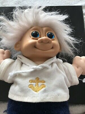 Troll Doll Sailor Boy; Soft 'Cabbage Patch' body; removable Clothing 33cm tall