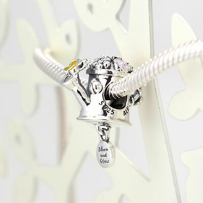 New Authentic Pandora Charms 925 ALE Sterling Silver CZ Can Bracelet Bead Charm
