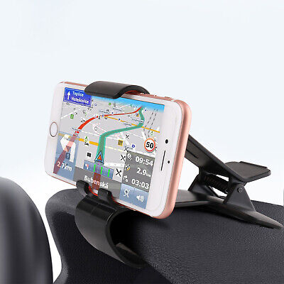 Universal Car Dashboard Clip Mount Holder Stand HUD Cradle For Mobile Phone GPS