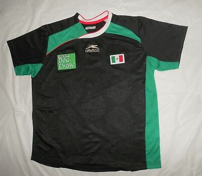 7a0165b15b3a RARE MEXICO Olympic Games issue PRACTICE SOCCER jersey ATLETICA FUTBOL Mens  sz L