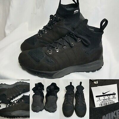 check out c4b71 9a22b Men s Nike Zoom Talaria Mid FK Flyknit Black Sneaker Boots Size 8 856957 001