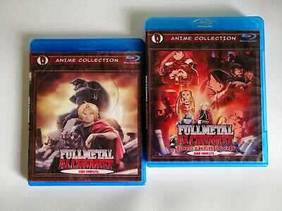 Full metal alchemist y  brotherhood  serie Español latino Bluray