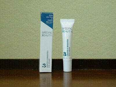 Specific Beauty Lighten & Brighten Eye Cream 0.5 oz/15 ml NIB $45 Value