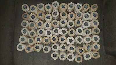 """66 rolls Of Preowned White Medical Cotton Cloth Tape. 2""""x10yds. Non-sterile."""