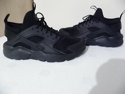 reputable site 9fe7f 3a138 Nike Air All Black Huarache Run Ultra 857909 002 SIZE UK 7.5 EUR 42