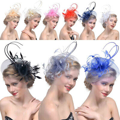 Charming Sinamay Fascinator Occasion Wedding Hats Party Cocktail Hat for Ladies