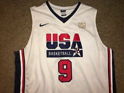 deb26a1767b7 NIKE Michael Jordan  9 USA Basketball 1992 Olympics Dream Team Jersey MENS  2XL