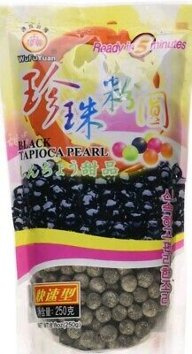 Pearls for Bubble milk tea drink tapioca asian dessert  - black