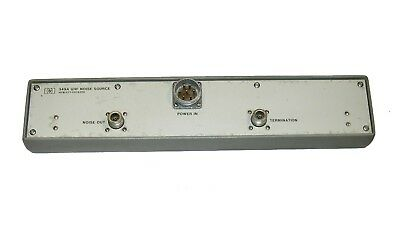 HP 349A UHF Noise Source 400/4000 Mhz Argon gaz discharge for noise figure meter