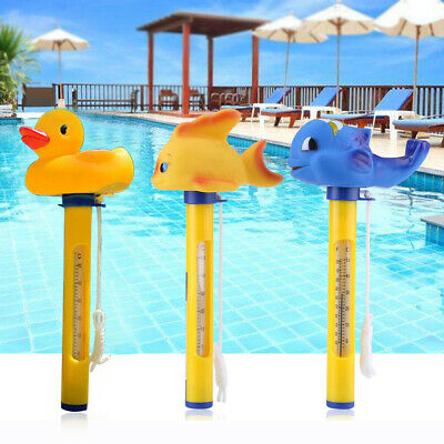 1x Floating Thermometer Swimming Pool Pond Spa Water Temperature Kit Tool