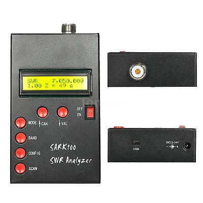 SARK100 SWR Antenna Analyzer Meter Tester Durable For Ham Radio Hobbists 60MHz