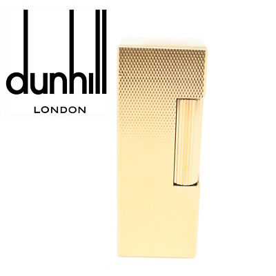 NEWDunhill - Rollagas Gold Plated Barley Lighter RLS1450 Classic Cigarette Flame
