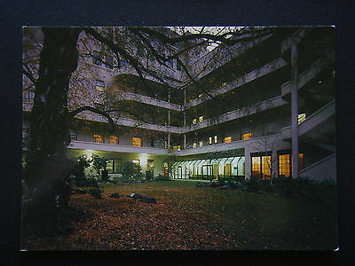 An Evening Winter Scene At Mercy Private Hospital Postcard