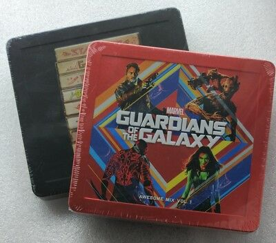 Guardians of the Galaxy Awesome Mix Vol. 1 + 2 Music CD Soundtrack Steelbook NEU