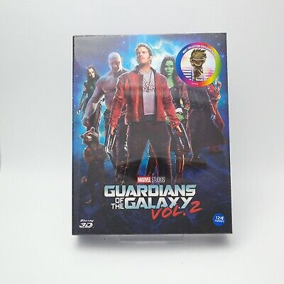 Guardians Of The Galaxy Vol.2 - Blu-ray Steelbook Full Slip Type A2 / 2D & 3D