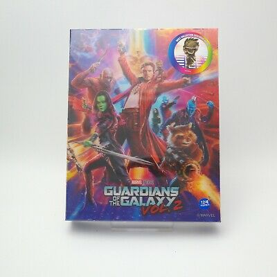 Guardians Of The Galaxy Vol.2 - Blu-ray Steelbook Lenticular Type B / 2D & 3D