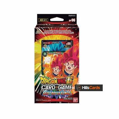 Dragon Ball Super Card Game Destroyer Kings Special Pack Set SP06 Z TCG - Bandai