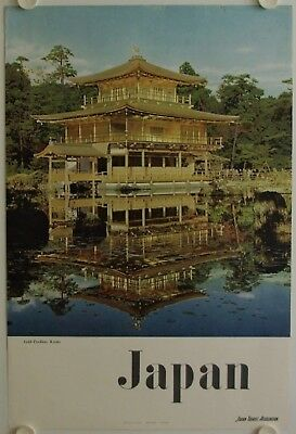 Affiche Tourisme JAPAN - GOLD PAVILLON KYOTO