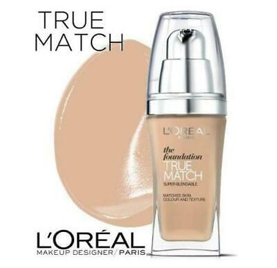 Loreal True Match Base de Maquillaje 30 ml SPF17 Make Up Tono Rose Sand L'oreal