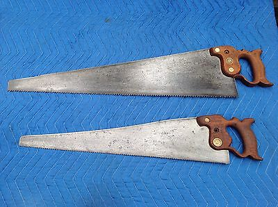 Old Hand Saws x 2