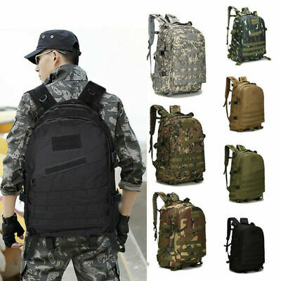 30L Military Tactical Backpack Trekking Rucksack Army Assault Bag Camping Hiking