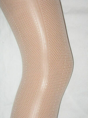Pale Pink Girls Tights Age 7-8. Cotton feel summer