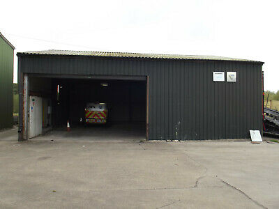 Used Steel Framed Building 50 ft x 30 ft x 13 ft - (15.2m x 9.1m x 4m)