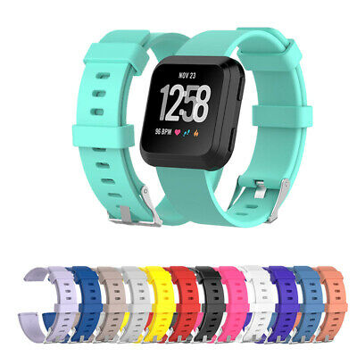 For Fitbit Versa/Versa Lite Silicone Watch Wrist Straps Replacement Watch Band