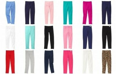 Gymboree Girl Leggings Cotton Rib Classic and Play Leggings Size 3 and up