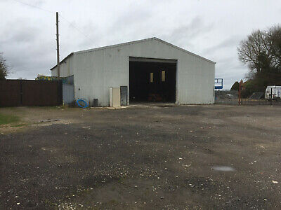 Used Steel Framed Building 60 ft x 54 ft x 18 ft (18.3m x 16.5m x 5.5m)