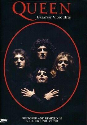 Queen Greatest Video Hits 2 DVD All Regions NTSC NEW 5.1 surround sound