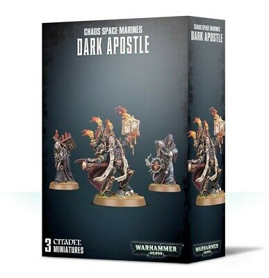 Chaos Space Marines Dark Apostle Games Workshop Warhammer 40,000 Brand New