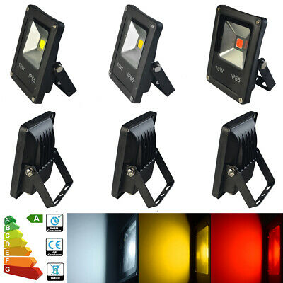 LED Floodlight 10W 20W 30W 50W 70W RGB Security Flood Light Wall Tree Decor UK