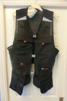 Bosch Whv-09 Professional Tool Vest Size Large Workwear Maintenance Electrical