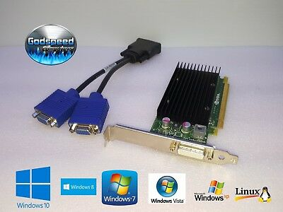 HP PAVILION P6402F p6404y Dual Monitor VGA Video Graphics Card