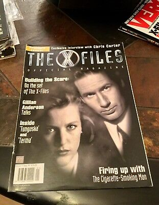 The X-Files Official Magazine. Premiere Issue 1. September 1997. VGC.