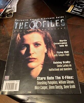 The X-Files Official Magazine. Issue 2. November 1997.