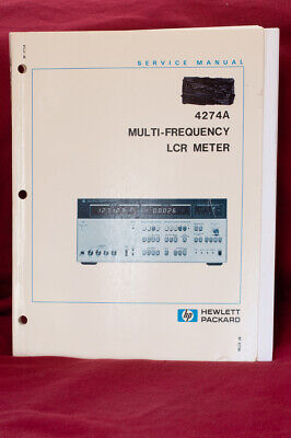 HP 4274A Mulitfrequency LCR Meter Service Manual