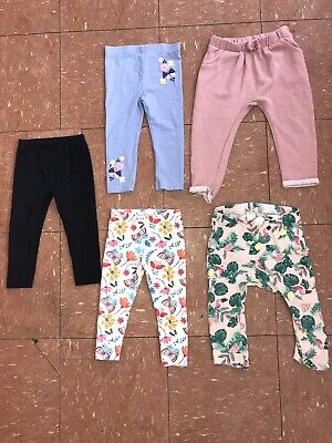 Girls Leggings Bundle Age 18-24 Months