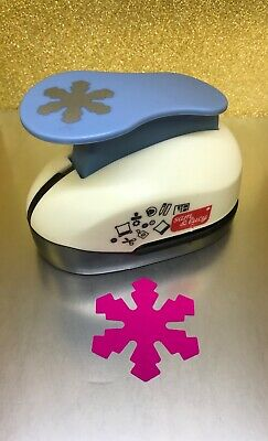 "2""  CRAFT PAPER PUNCHES  ""SNOWFLAKE""  Scrapbooking Tool Punches Craft Cutter"