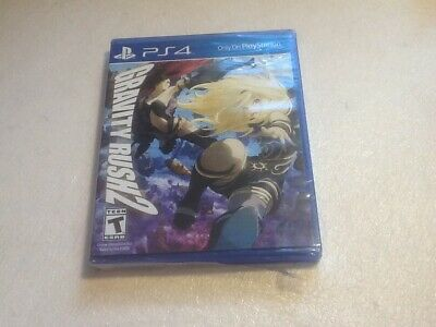 Gravity Rush 2 - Ps4 Playstation - Brand New Sealed