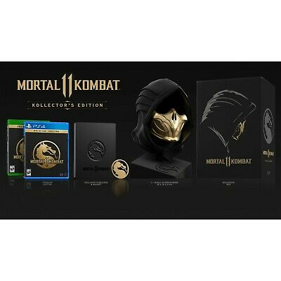 Mortal Kombat 11 – Kollector's Edition PS4 Limited Collectors Rare BNIB Sealed