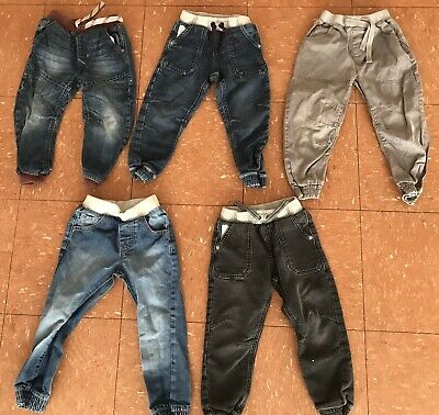 Boys Clothes Bundle Age 3-4 Years Cuffed Jeans