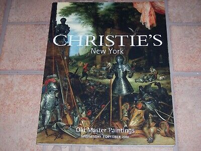 Christie's Auction Catalog (Select 1 from list) List H
