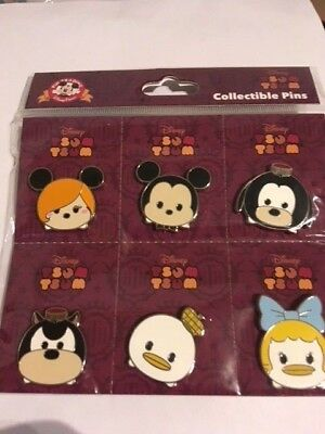Hollywood Tower Hotel Tsum Tsum Booster Set Pin 120722