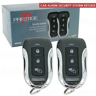 Viper CAR ALARM SECURITY SYSTEM KEYLESS ENTRY SYSTEM 3 CHANNEL 1WAY + 2 REMOTES